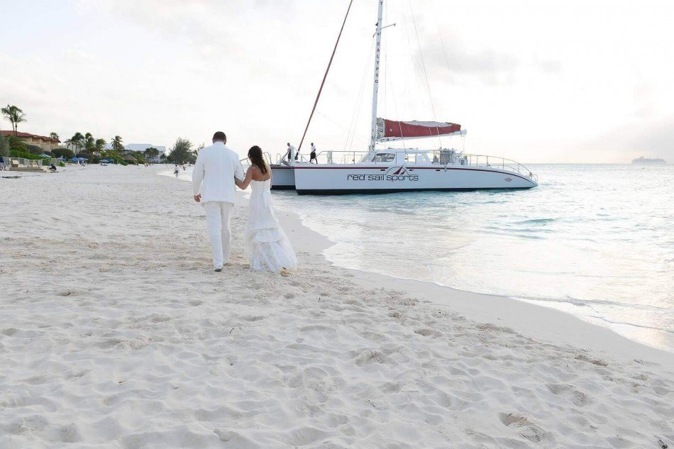 Wedding Services - Charter a luxury catamaran