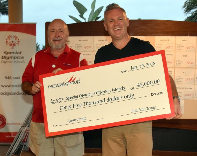 Red Sail Group Pledges Three-year Sponsorship to Special Olympics Cayman Islands