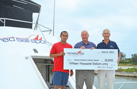 The Red Sail Group Supports the Efforts of Special Olympics Cayman Islands