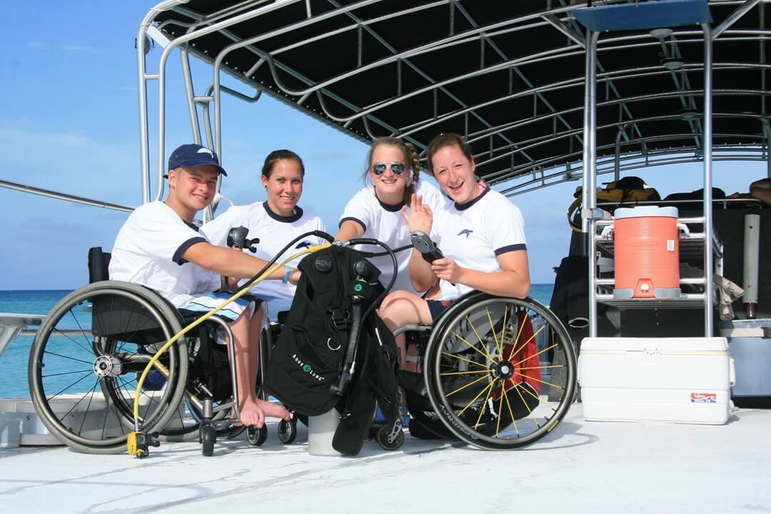 Cayman the Ideal Dive Destination for Divers with Disabilities