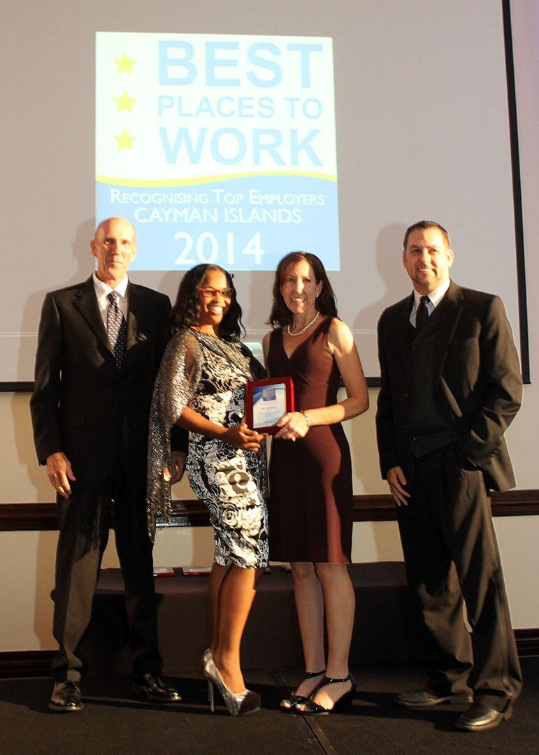 Red Sail Sports Named One of the Best Places to Work in Grand Cayman