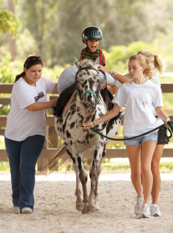 The Red Sail Group Sponsors Equine Therapy for Autistic Children of Lighthouse School