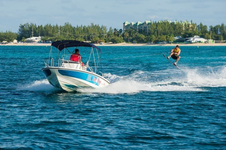 Wakeboarding in Cayman
